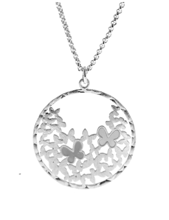 Collar VIDAL&VIDAL X2444738 Metal Antialérgico con Baño de Plata Mujer