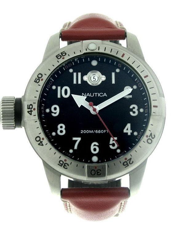 Reloj NAUTICA A10011 Correa Piel Hombre