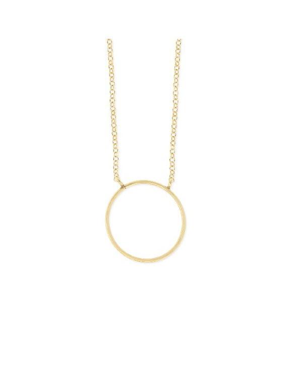 Collar LISKA LAD7110CL-D Plata con Baño de Oro Mujer