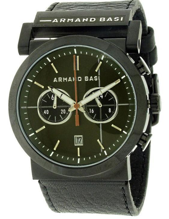 Reloj ARMAND BASI A-0441G-04 Cronografo Correa Piel Hombre