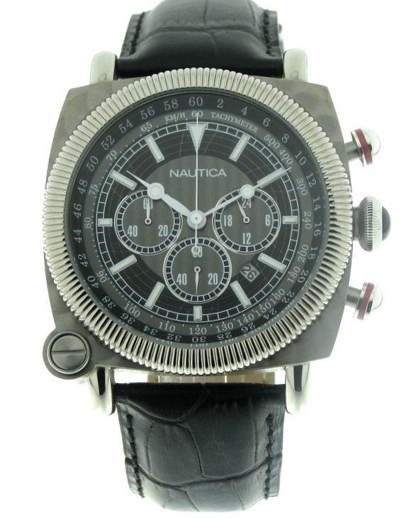 Reloj NAUTICA A44041G Cronografo Correa Piel Hombre