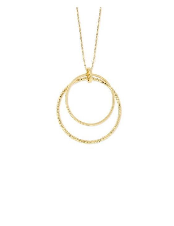 Collar LISKA LAT1009CL-D Plata con Baño de Oro Mujer
