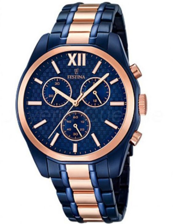 Reloj FESTINA F16857/1 ELEGANCE Cronografo Acero Hombre