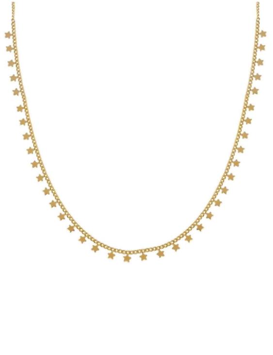 Collar VIDAL&VIDAL X4581438 Metal Antialérgico con Baño de Oro Mujer