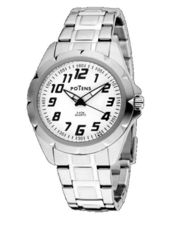Reloj POTENS 40-2682-0-1 Brazalete Acero Junior