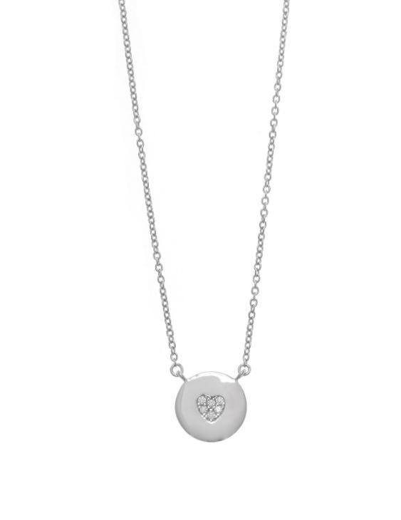 Collar SALVATORE 136C0188 Plata con Circonitas Mujer