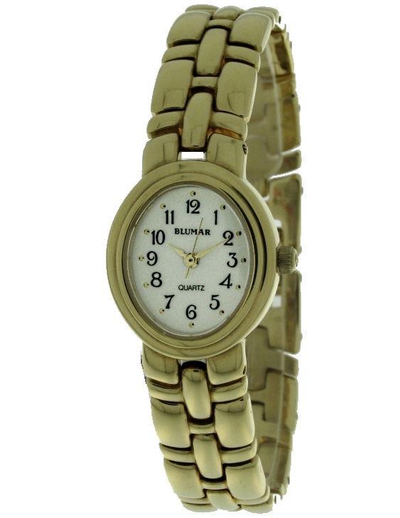 Reloj BLUMAR Y121-863L Brazalete Acero Chapado Oro Mujer