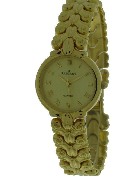 Reloj RADIANT 2771128-2 Brazalete Acero Chapado Oro Mujer