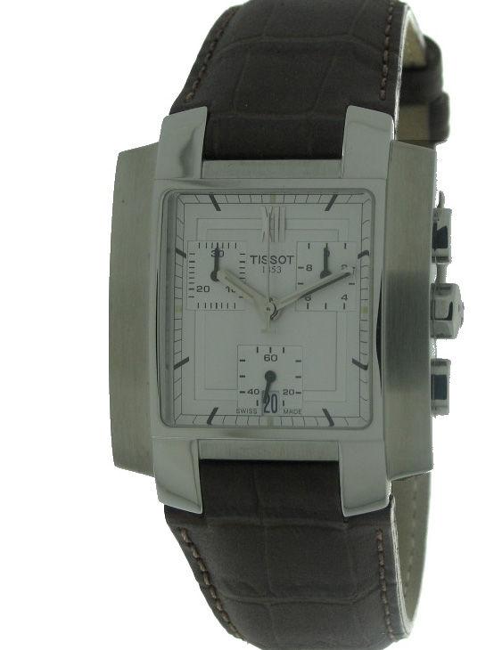 Reloj TISSOT T960151733 Cronografo Correa Piel Hombre