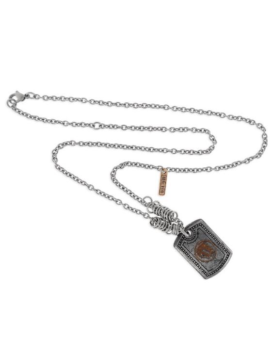 Collar SCULL RIDER SR010 Acero