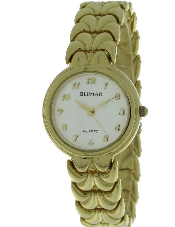 Reloj BLUMAR 1440028-3 Brazalete Acero Chapado Oro Mujer