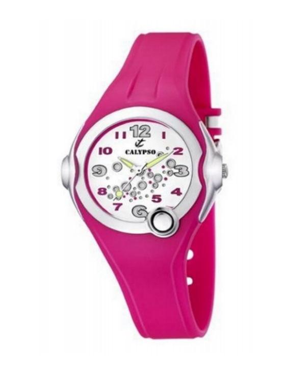 Reloj CALYPSO K5562/3 Correa de Caucho con Luz Niña